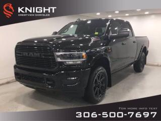 New 2019 RAM 3500 Laramie Crew Cab | Leather | Navigation | Sunroof | for sale in Regina, SK