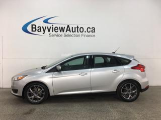 Used 2015 Ford Focus SE - 28,000KMS! AUTO! PWR GROUP! ALLOYS! for sale in Belleville, ON