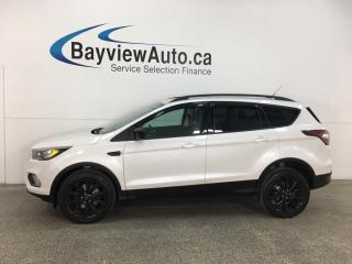 Used 2017 Ford Escape - 4WD! NAV! PANOROOF! HTD SEATS! ALLOYS! + MORE! for sale in Belleville, ON