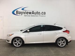 Used 2016 Ford Focus Titanium - AUTO! NAV! SUNROOF! HTD LEATHER! SYNC! + MORE! for sale in Belleville, ON