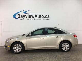Used 2015 Chevrolet Cruze 1LT - AUTO! ONSTAR! A/C! CRUISE! PWR GROUP! for sale in Belleville, ON