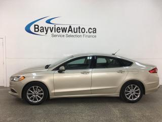 Used 2017 Ford Fusion - SYNC! REMOTE START! ALLOYS! ONLY 24,000KMS! for sale in Belleville, ON