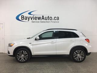 Used 2018 Mitsubishi RVR SE Limited Edition - AWC! HTD LEATHER TRIM! PANOROOF! PADDLE SHIFTERS! + MORE! for sale in Belleville, ON