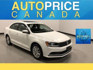 Used 2015 Volkswagen Jetta 2.0L Trendline+ MOONROOF|ALLOYS for sale in Mississauga, ON