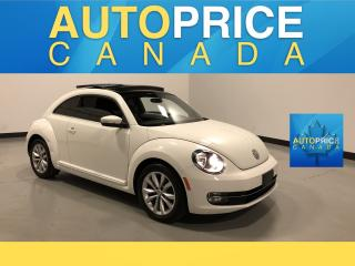 Used 2013 Volkswagen Beetle 2.0 TDI Highline PANOROOF for sale in Mississauga, ON