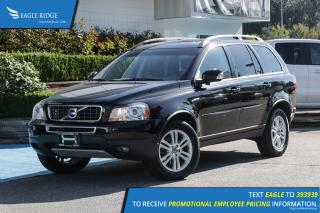 Used 2012 Volvo XC90 3.2 Platinum Leather Upholstery, Sunroof for sale in Coquitlam, BC