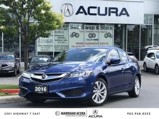 Used 2016 Acura ILX Premium Backup Cam, Heated Seats, Blind Spot Info for sale in Markham, ON