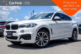 Used 2017 BMW X6 xDrive35i AWD|Navi|Pano Sunroof|Backup Cam|Bluetooth|Leather|Heated Front Seats|20