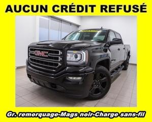 Used 2017 GMC Sierra 1500 CREW KODIAK 4X4 MAGS NOIR CHARGE CELL *GR. REMORQ* for sale in St-Jérôme, QC