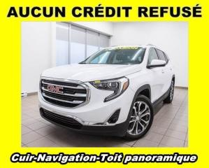 Used 2018 GMC Terrain SLT AWD HAYON ÉLECT TOIT PANO NAVIGATION *CUIR* for sale in St-Jérôme, QC