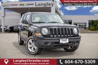 Used 2016 Jeep Patriot Sport/North 4X4 for sale in Surrey, BC