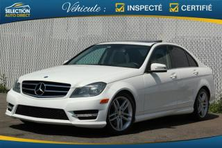 Used 2014 Mercedes-Benz C-Class C 300 4MATIC for sale in Ste-Rose, QC