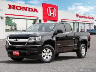 Used 2016 Chevrolet Colorado WT Sold Pending Customer Pick Up...Reverse Assist Camera and More! for sale in Waterloo, ON