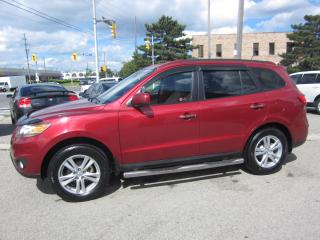 Used 2010 Hyundai Santa Fe Limited $8,995+HST+LIC FEE/ CLEAN CARFAX REPORT for sale in North York, ON