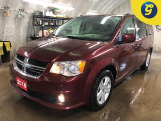 Used 2018 Dodge Grand Caravan Crew Plus * Garmin navigation system * Handsfree communication with Bluetooth streaming * Leatherfaced bucket seats with perforated inserts * Stow N for sale in Cambridge, ON