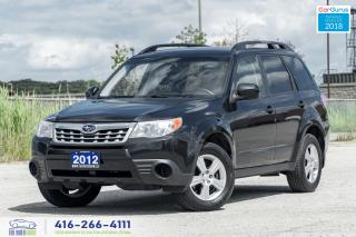 Used 2012 Subaru Forester 1Owner CleanCarfax ServicedCertified B*toothAlloys for sale in Bolton, ON