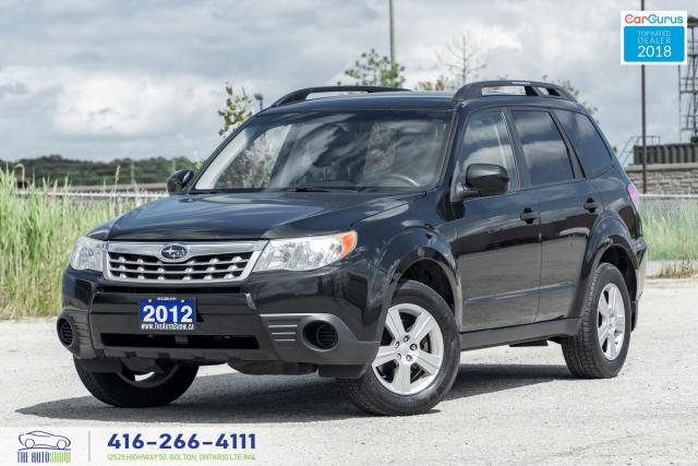 2012 Subaru Forester 1Owner CleanCarfax ServicedCertified B*toothAlloys