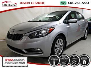 Used 2016 Kia Forte LX+* SIEGES CHAUFFANTS* BLUETOOTH* for sale in Québec, QC