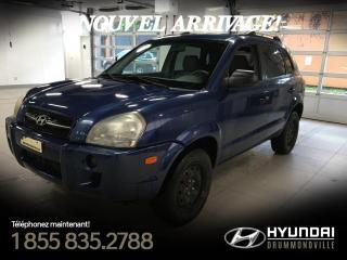 Used 2006 Hyundai Tucson GL + 99 720 KM + GROUPE ÉLECTRIQUE + A/C for sale in Drummondville, QC
