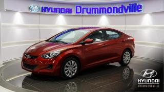 Used 2013 Hyundai Elantra GL + 48 916KM + A/C + BLUETOOTH + CRUISE for sale in Drummondville, QC