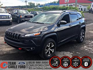 Used 2016 Jeep Cherokee Jeep Cherokee Trailhawk 2016, cuir, GPS for sale in Gatineau, QC