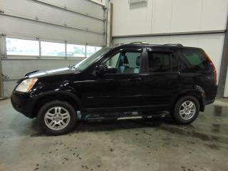 Used 2002 Honda CR-V LX for sale in Amos, QC
