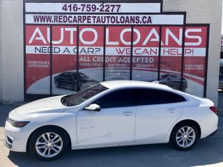 Used 2017 Chevrolet Malibu 1LT MALIBU-ALL CREDIT APPROVED for sale in Scarborough, ON