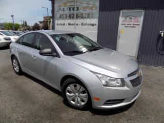 Used 2012 Chevrolet Cruze ***LS,AUTOMATIQUE,AIR CLIM,ECONOMIQUE*** for sale in Longueuil, QC