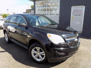 Used 2011 Chevrolet Equinox ***LS,AUTOMATIQUE,AIR CLIM,BAS KILO*** for sale in Longueuil, QC