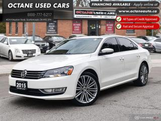 Used 2015 Volkswagen Passat 1.8 TSI Comfortline Accident Free! Locally Owner! for sale in Scarborough, ON