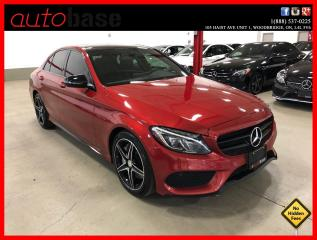 Used 2016 Mercedes-Benz C-Class C300 4MATIC NIGHT PREMIUM SPORT ACTIVE LED for sale in Vaughan, ON