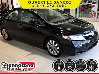 Used 2009 Honda Civic EX-L***TOIT OUVRANT***INTÉRIEUR EN CUIR* for sale in Donnacona, QC