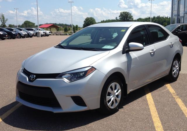 2014 Toyota Corolla Enhanced Convenience Pkg
