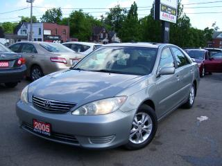 Used 2005 Toyota Camry LE,AUTO,ICE COLD A/C,NO ACCIDENT,CERTIFIED,SUNROOF for sale in Kitchener, ON