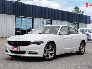 Used 2015 Dodge Charger SXT,REMOTE START,HEATED SEATS,B.TOOTH for sale in Barrie, ON
