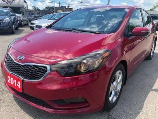 Used 2014 Kia Forte LX for sale in Hamilton, ON