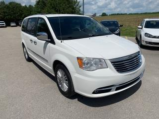 2012 Chrysler Town & Country Limited with summer tires