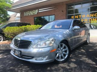 Used 2007 Mercedes-Benz S-Class V8 S550 4MATIC NAVI LOADED LOW KM CERTIFIED for sale in Concord, ON