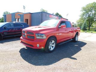 Used 2015 RAM 1500 Sport|BACKUP CAMERA|BLUETOOTH|4X4|ACCIDENT FREE for sale in St. Thomas, ON