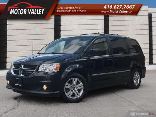 Used 2011 Dodge Grand Caravan Crew NAVIGATION, DVD for sale in Scarborough, ON