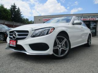 Used 2016 Mercedes-Benz C-Class C 300-4MATIC-NAVI-PANO-ROOF-LTHER-CAMERA-AMG PKG-H for sale in Scarborough, ON