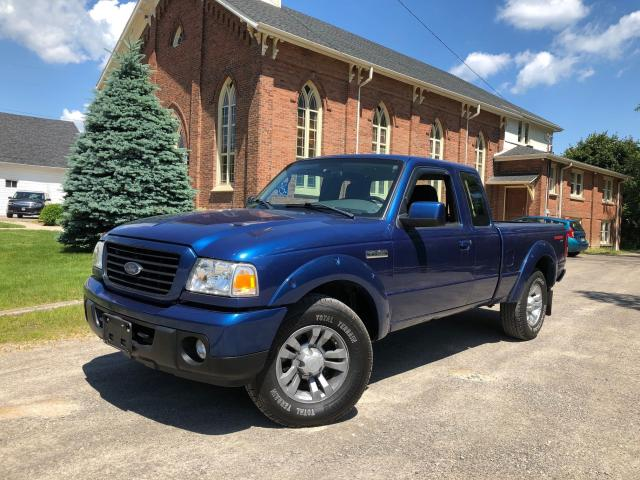 2008 Ford Ranger SPORT - 5 SPEED MANUAL - 4X4 - CERTIFIED