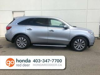 Used 2016 Acura MDX SH AWD Navigation Package BU Cam for sale in Red Deer, AB