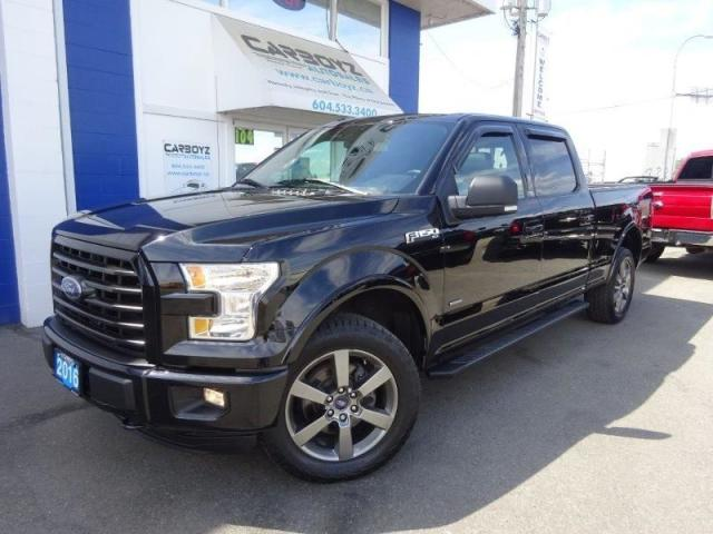 2016 Ford F-150 FX4 Sport 6.5 Box, Nav, Moonroof, Leather, Max Tow