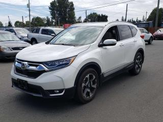 Used 2017 Honda CR-V Touring for sale in Campbell River, BC
