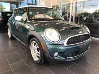 Used 2007 MINI Cooper COOPER S, ACCIDENT FREE, SKYROOF, BLUETOOTH, SPORT MODE for sale in Edmonton, AB