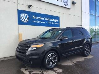 Used 2015 Ford Explorer SPORT 4WD - LEATHER / SUNROOF / NAVI for sale in Edmonton, AB