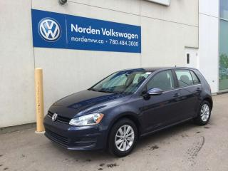 Used 2016 Volkswagen Golf 1.8 TSI 5DR TRENDLINE - VW CERTIFIED / HEATED SEATS / BLUETOOTH for sale in Edmonton, AB