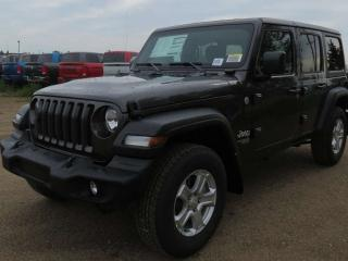 Used 2019 Jeep Wrangler UNLIMITED SPORT for sale in Edmonton, AB