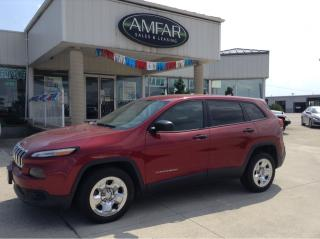 Used 2015 Jeep Cherokee Sport for sale in Tilbury, ON